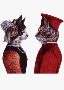 gatos perfil
